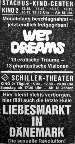 Wet Dreams / Liebesmarkt in Dänemark
